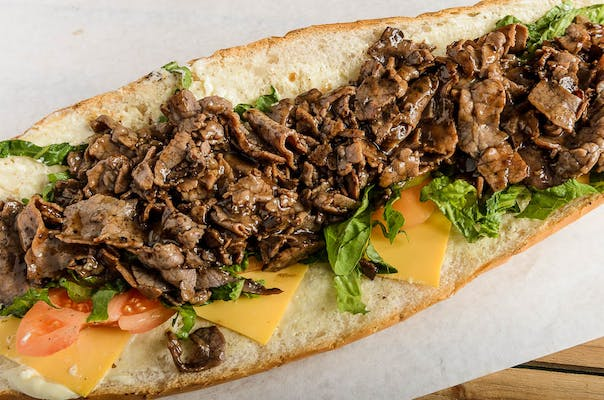 Hot Roast Beef Po'boy
