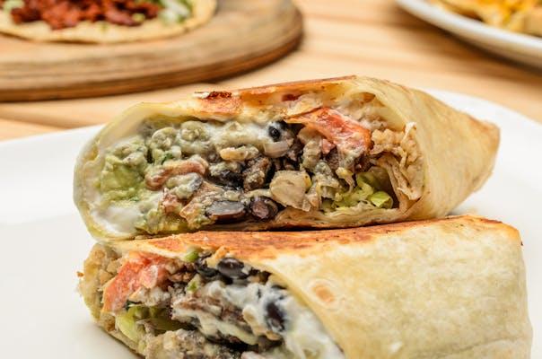 Calle style Burrito