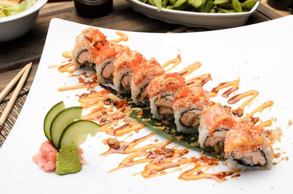 Salmon Lover's Roll