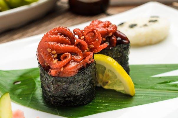 Baby Octopus Nigiri