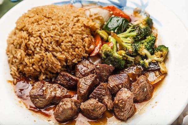 Hibachi Angus Steak Lunch