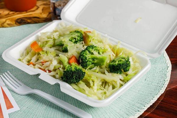 Steamed Vegetables Only