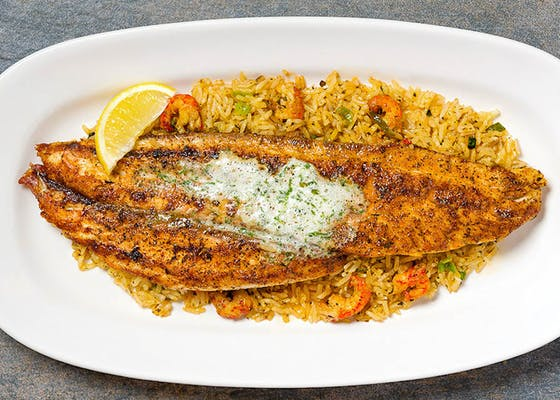 Blackened or Grilled Redfish