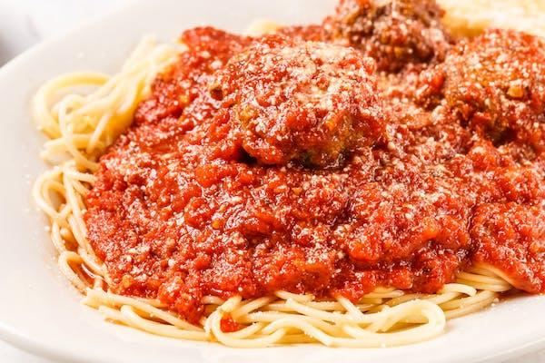 Meatballs & Spaghetti Dinner