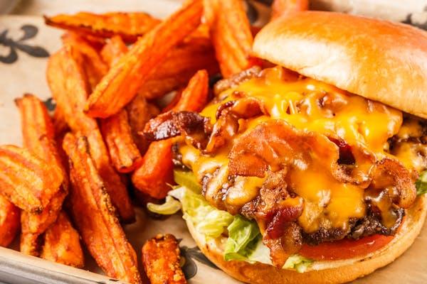 Bacon Cheddar Burger