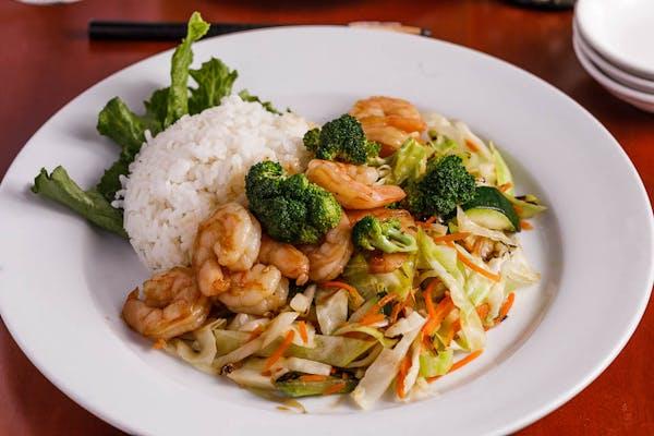Lunch Teriyaki Shrimp