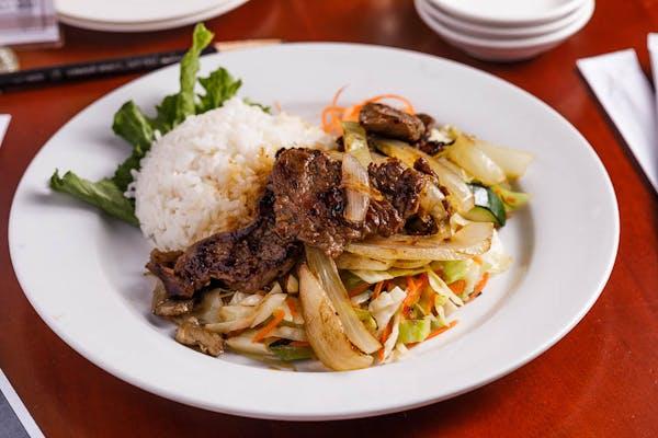 Lunch Teriyaki Steak