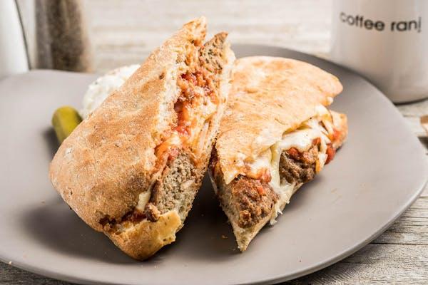 Meatball Ciabatta Sandwich
