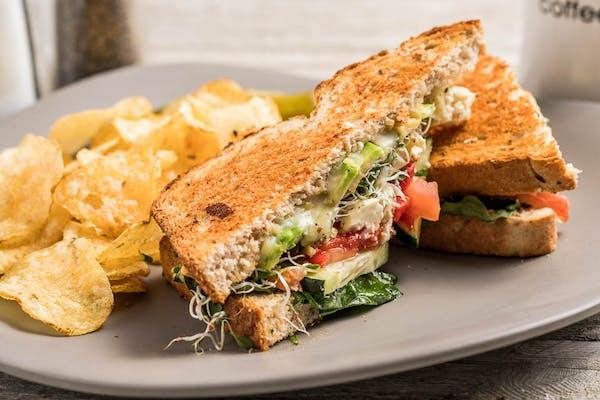 Mediterranean Garden Sandwich