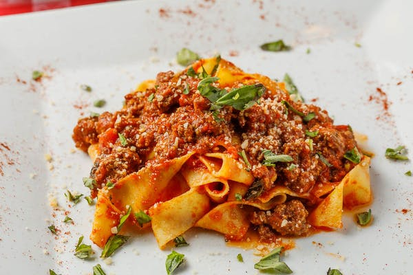 Lunch Pappardelle Bolognese