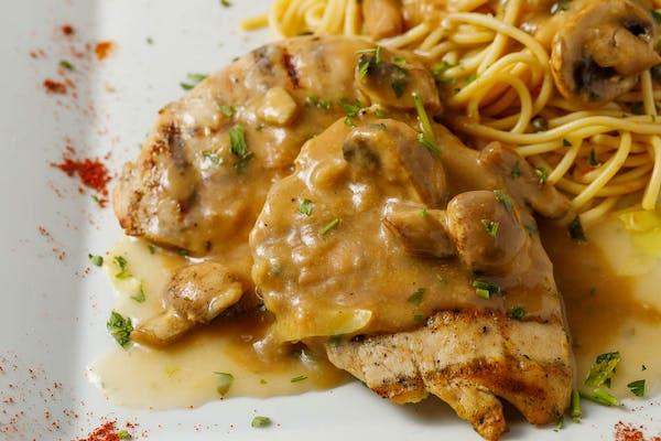 Pollo alla Marsala