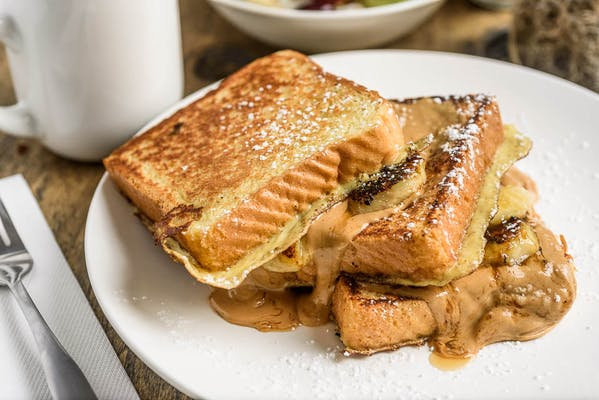 Nana's Peanut Butter & Banana French Toast