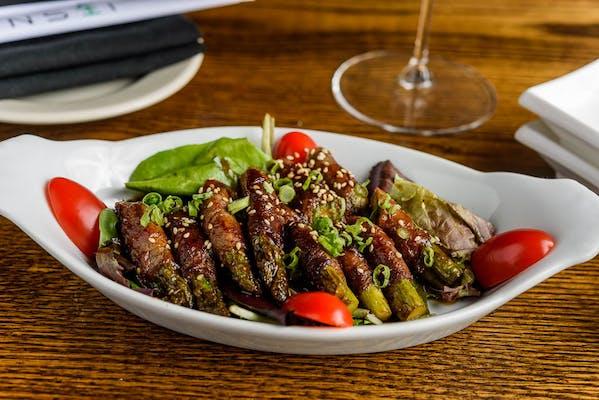 Kobe Wrapped Asparagus