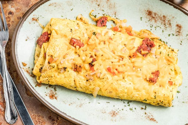 Cajun Omelette