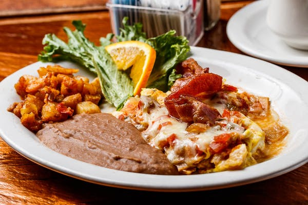 Fajitas Omelette