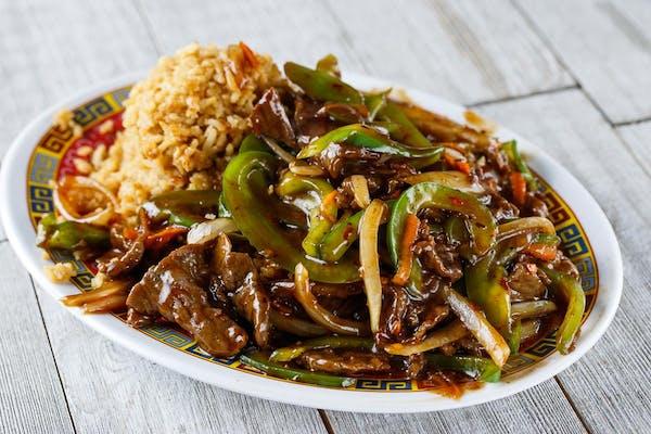 F16. Mongolian Beef