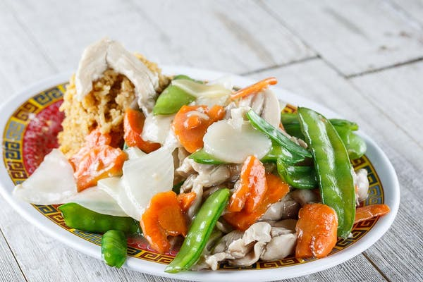 F17. Chicken with Snow Peas