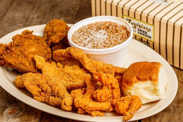 Chicken, Fish & Shrimp
