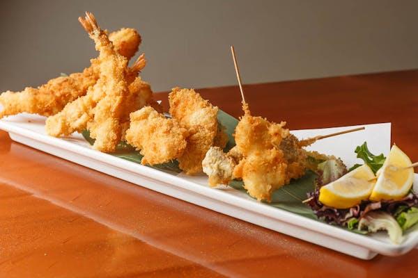 Seafood Tempura Entrée