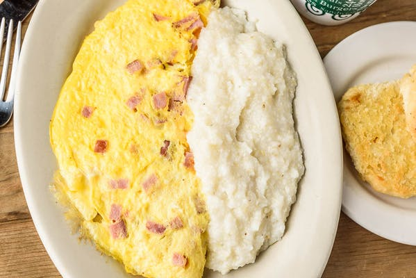 Meat & Cheese Omelette