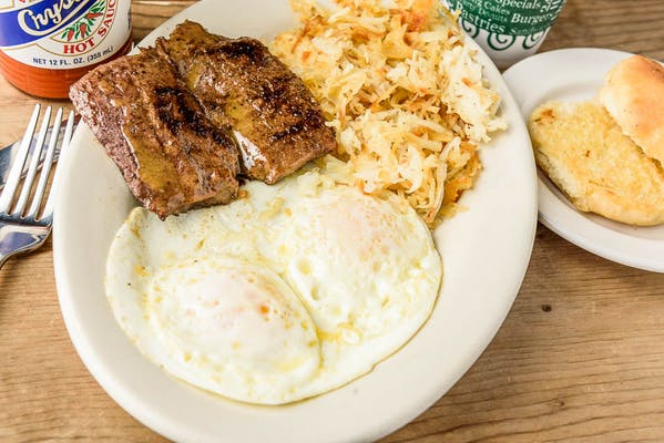 Steak & Egg Breakfast Special