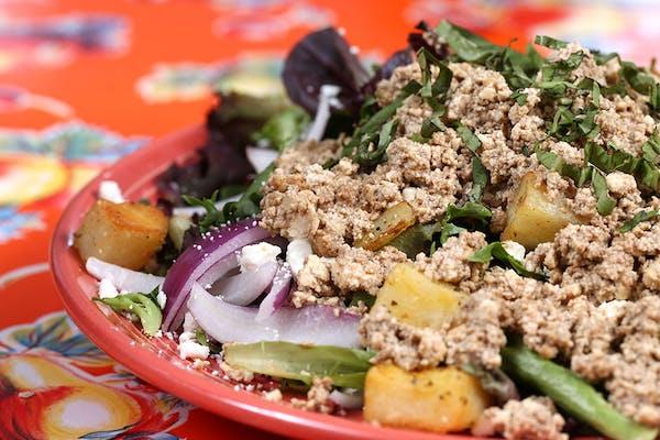 Tofu & Tater Salad