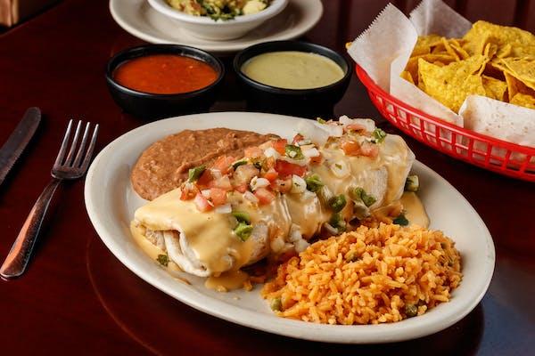 Burrito Jalisco Style