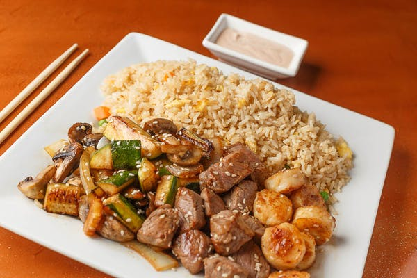 Steak & Scallops Hibachi