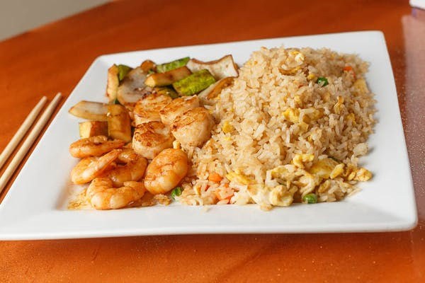 Shrimp & Scallops Hibachi