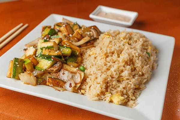 Vegetable Hibachi Plate