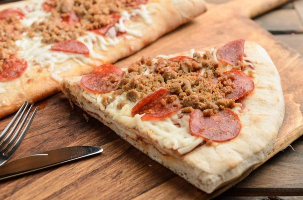 Calabrese Stuffed Pizza