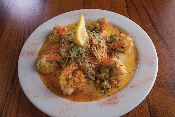 Garlic Shrimp Oreganata