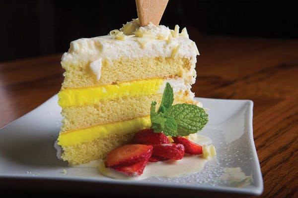 Lemon Tower Cake
