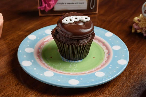 Chocolate Cream Cupcake