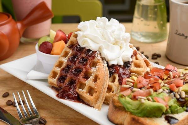 Belgian Waffle Plate