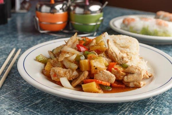 Sweet 'N' Sour Chicken or Shrimp