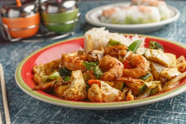 Thai Stir-Fry Shrimp Curry