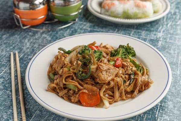 Pad Kee Mow Noodles