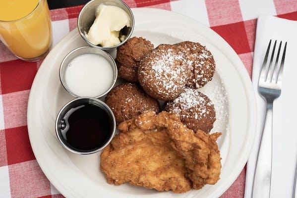Chicken & Pancake Hushpuppies
