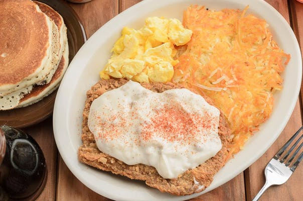 Chicken-Fried Steak & Eggs