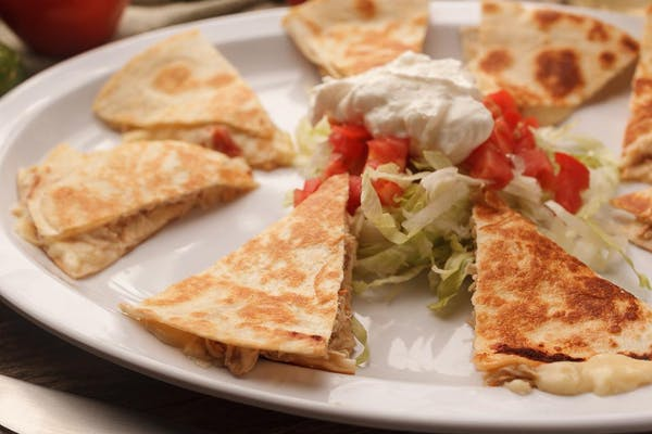 Grilled Supreme Quesadilla