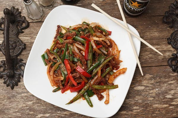 33. Hot Pepper Beef Stomach