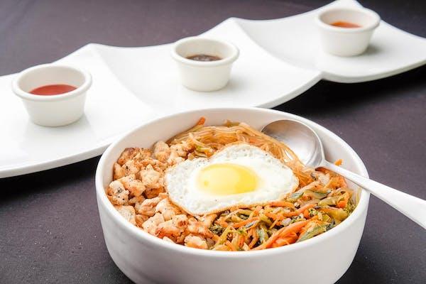 Korean Rice Bowl (Bibimbap)