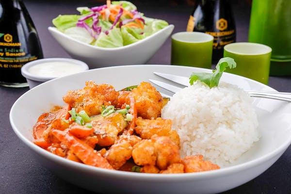 Crispy Spicy Chicken Plate